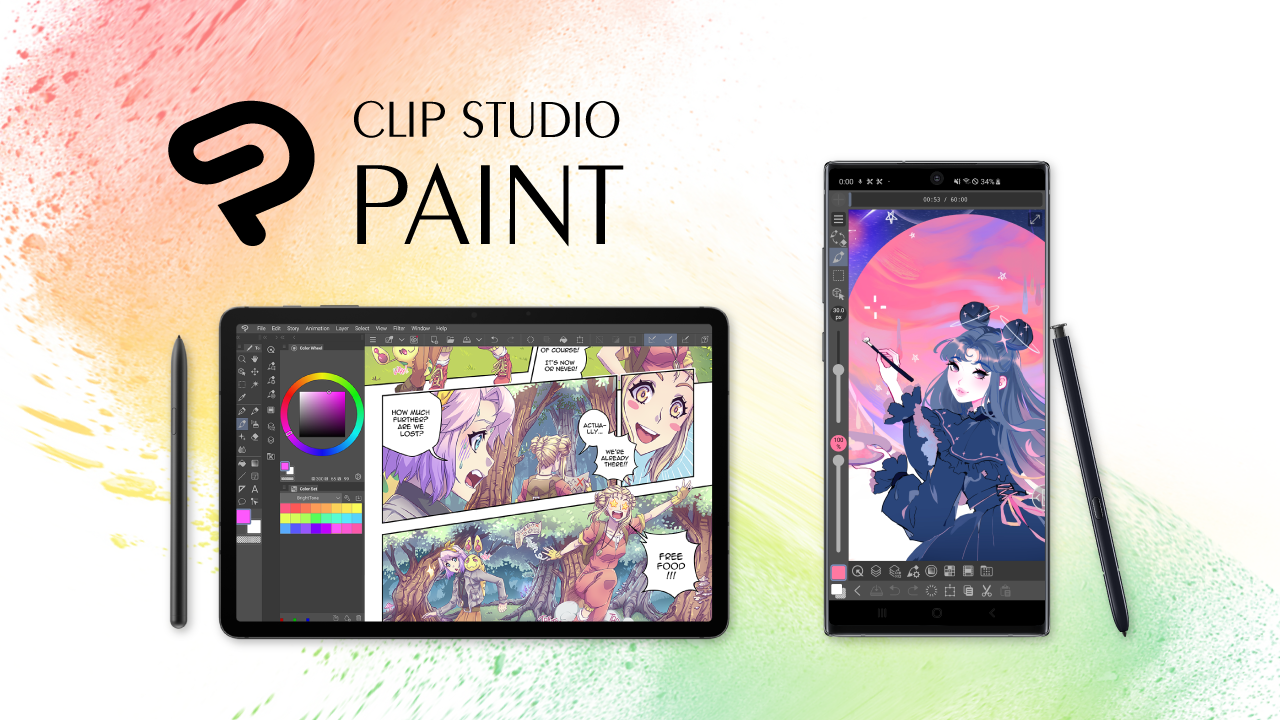 Application CLIP STUDIO PAINT pour Galaxy