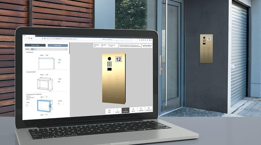 Configurateur pour les Interphones Vidéo IP DoorBird