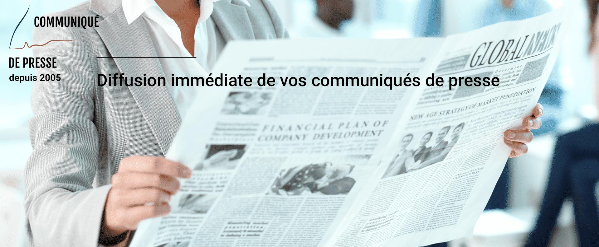 Communiqué de presse gratuit à diffuser